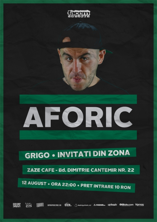 Aforic Club Zaze Cafe Eveniment HIP HOP