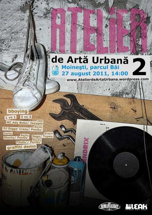 poster ateliere de arta urbana