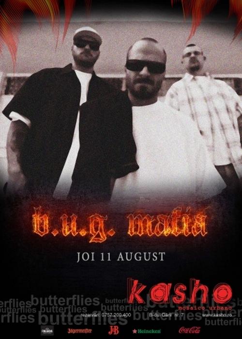 BUG Mafia Club Kasho eveniment hip hop