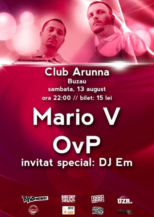 Mario V & OvP club Arunna evenimente HIP HOP
