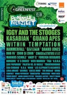 poster tuborg green fest 2011